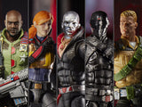 Hasbro G.I. Joe Classified Series Wave 1 Roadblock, Duke, Scarlett, Destro & Snake Eyes Figure Set of 5 Figures