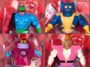 Super7 Masters of the Universe Vintage Wave 3 Collction Set of 4 Figures
