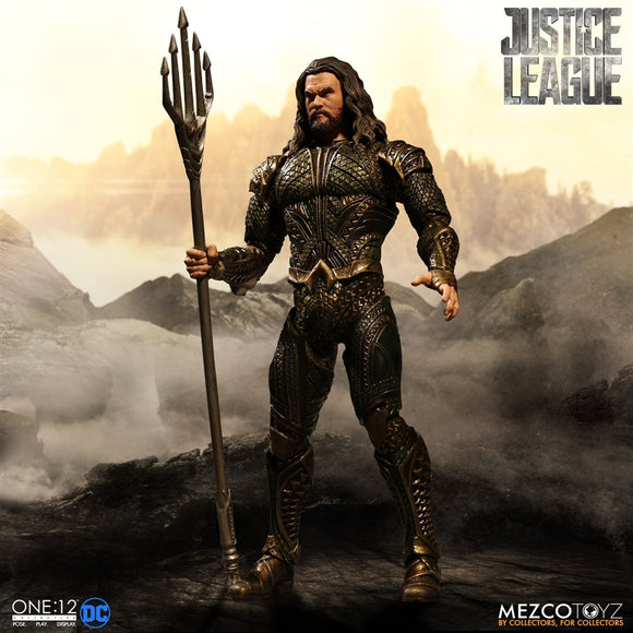 Mezco Toyz One12 Collective DC Comics Justice League Aquaman 1/12 Scale 6