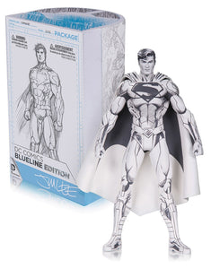DC Comics Jim Lee Blueline Pencil Superman New 52 Action Figure