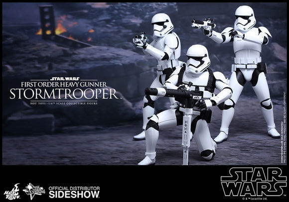 Hot Toys Star Wars Episode VII The Force Awakens First Order Heavy Gunner Stormtrooper 1/6 Scale 12