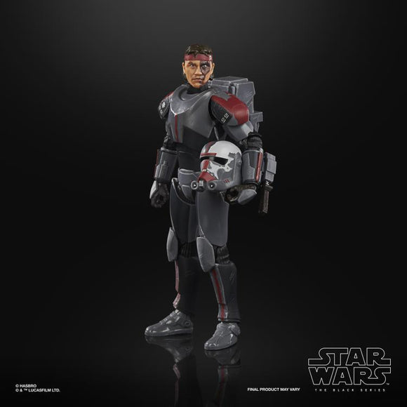 Hasbro Star Wars The Black Series Bad Batch Hunter (Clone Wars) 6-Inch Action Figure