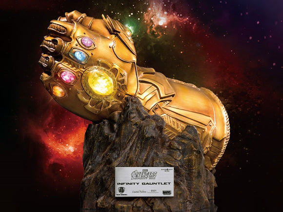 Beast Kingdom Marvel Avengers Infinity War Master Craft MC-004 Infinity Gauntlet PX Previews Exclusive Movie Prop Replica Statue