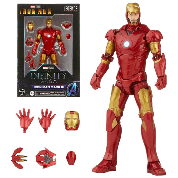 Hasbro Marvel Legneds Iron Man Marvel Legends Mark 3 Armor 6-inch Action Figure