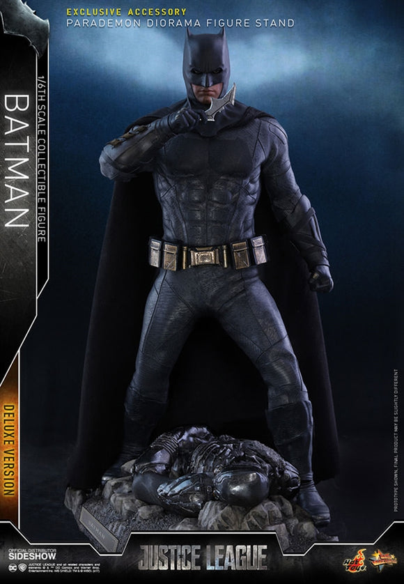 Hot Toys DC Comics Justice League Batman (Deluxe) 1/6 Scale 12