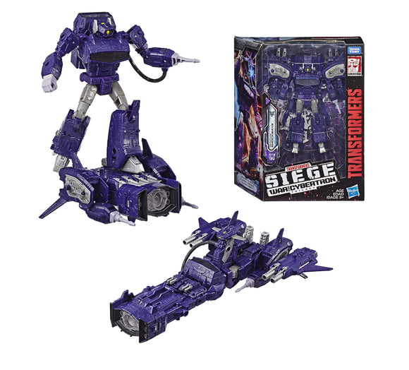 Hasbro Transformers Generations War for Cybertron Siege Leader Shockwave