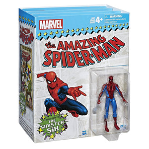 Hasbro Marvel Legends Series Spider-Man vs. The Sinister Six, 3.75-inch 7 Figures Set