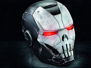 Marvel Comics 80th Anniversary Marvel Legends Punisher War Machine Armor 1:1 Scale Wearable Helmet