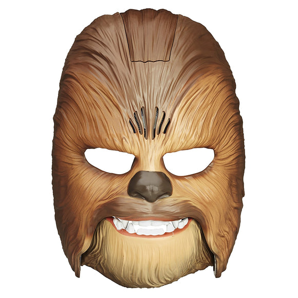 Star Wars The Force Awakens Chewbacca Talking Electronic Adjustable Mask