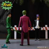 Mezco Toyz Batman (1966) Classic TV Series 5 Points Deluxe Box Set