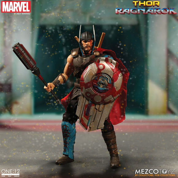 Mezco Toyz One12 Collective Marvel Comics Thor Ragnarok Gladiator Thor 1/12 Scale 6