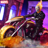 Mezco Toyz One:12 Collective Marvel Comics Ghost Rider & Hell Cycle 1/12 Scale Action Figure Set
