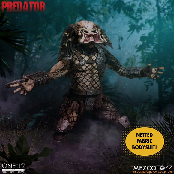 Mezco Toyz One:12 Collective Predator Classic Jungle Hunter Predator - Deluxe Edition 1/12 Scale Action Figure
