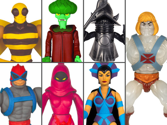 Super7 Masters of the Universe Vintage Wave 4 Collction Set of 7 Figures