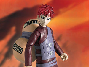 Toynami Naruto Shippuden 4-Inch Poseable Action Figure Series 2 Gaara Action Figure