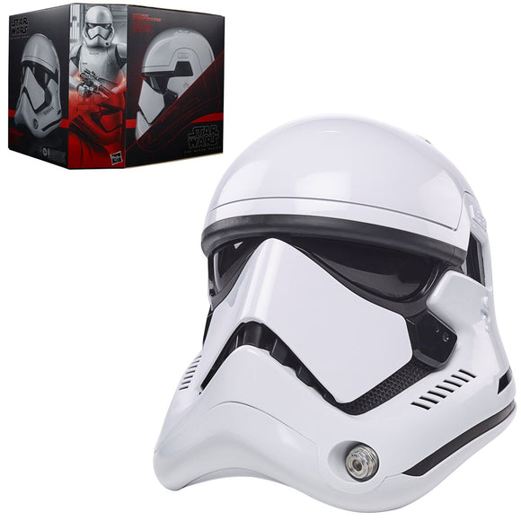 Hasbro Star Wars The Black Series First Order Stormtrooper Premium Electronic Helmet Prop Replica