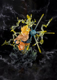 Bandai Dragon Ball Z FiguartsZERO Super Saiyan Goku (The Burning Battles) PVC Statue