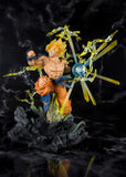 Bandai Dragon Ball Z Figuarts ZERO Super Saiyan Goku (The Burning Battles) PVC Statue