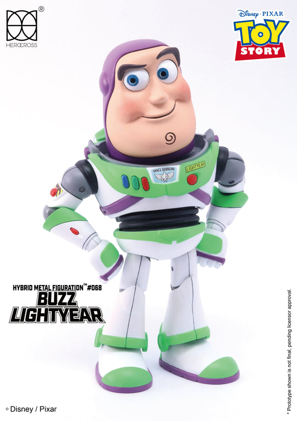 HEROCROSS Hybrid Metal Figuration 068 Disney Toy Story Buzz Lightyear Diecast Action Figure