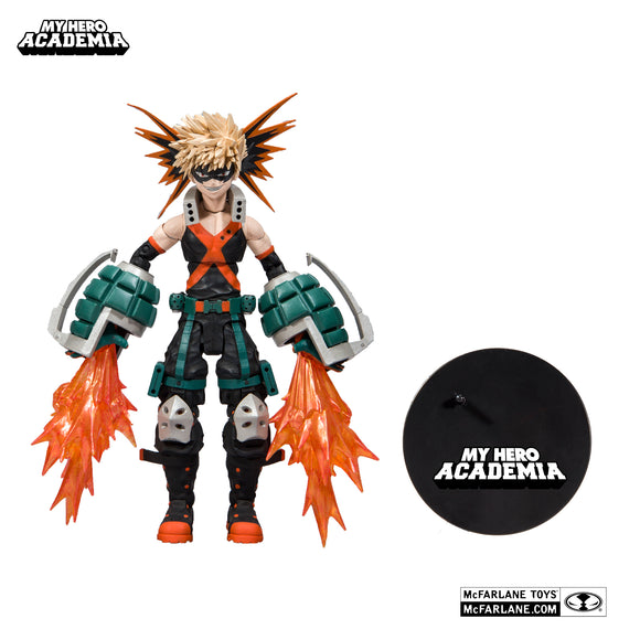 McFarlane Toys My Hero Academia Series 1 Katsuki Bakugo Action Figure