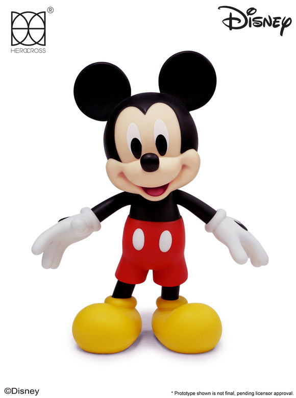HEROCROSS Hybrid Vinyl Series 009 Disney Mickey Mouse 12 inch Vinyl Figure