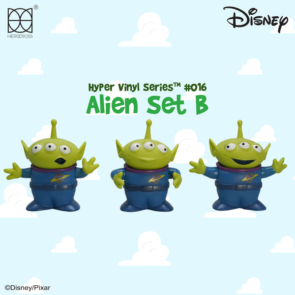 HEROCROSS Hybrid Vinyl Series 015 Disney Toy Story Alien Set B Vinyl Figure