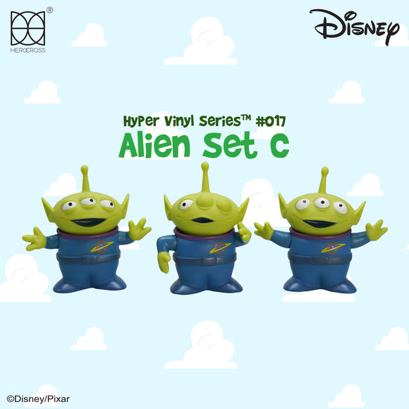 HEROCROSS Hybrid Vinyl Series 015 Disney Toy Story Alien Set C Vinyl Figure