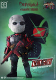 HEROCROSS Hybrid Metal Figuration 071 DC Comics Suicide Squad Dead Shot Diecast Action Figure