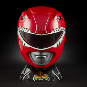 Hasbro Mighty Morphin Power Rangers Lightning Collection Red Ranger 1:1 Scale Wearable Helmet