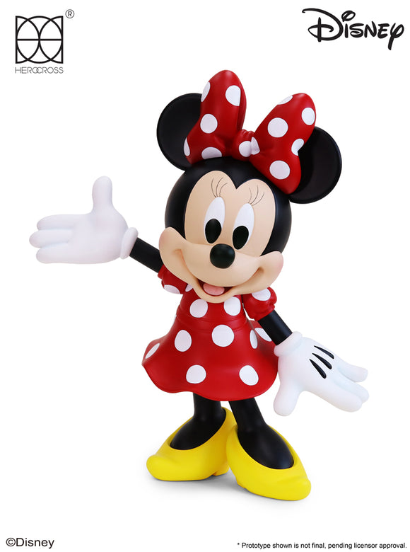 HEROCROSS Hybrid Vinyl Series 010 Disney Minnie Mouse 12 inch Vinyl Figure