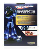 "Capcom Mega Man Megaman Classic 25th Anniversay Edition 10"" Blue LED Statue"