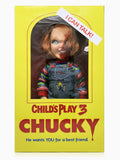 "Mezco Toyz Child's Play 3 Designer Series Talking Pizza Face Chucky Mega Size 15"" Figure"