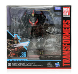 Hasbro Transformers Studio Series Deluxe Drift with Baby Dinobots Sharp-T, Pterry, and Tops