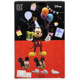 HEROCROSS Hybrid Metal Figuration 078 Disney Mickey Mouse (Birthday Edition) Diecast Action Figure