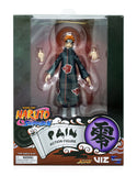 Toynami Naruto Shippuden 4-Inch Poseable Action Figure Series 2 Gaara, Sasuke, Pain Action Figure Set