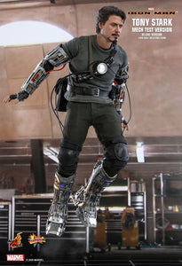 Hot Toys Marvel Comics Iron Man Tony Stark (Mech Test Deluxe Version) 1/6 Scale Collectible Figure