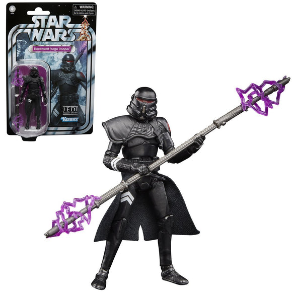 Hasbro Star Wars The Vintage Collection Gaming Greats Electrostaff Purge Trooper 3.75
