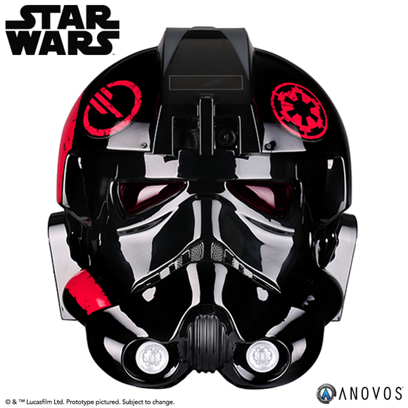 ANOVOS Star Wars Battlefront II: Inferno Squad Commander Full Size Helmet Prop Replica