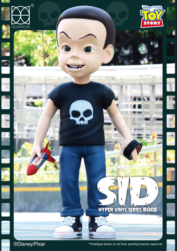 HEROCROSS Hybrid Vinyl Series 008 Disney Toy Story Sid Phillips 24 inch Vinyl Figure