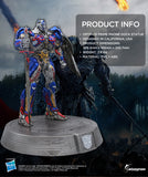 "Transformers The Last Knight Optimus Prime 12"" Statue Smart Phone Dock (iPhone, Samsung, Android)"