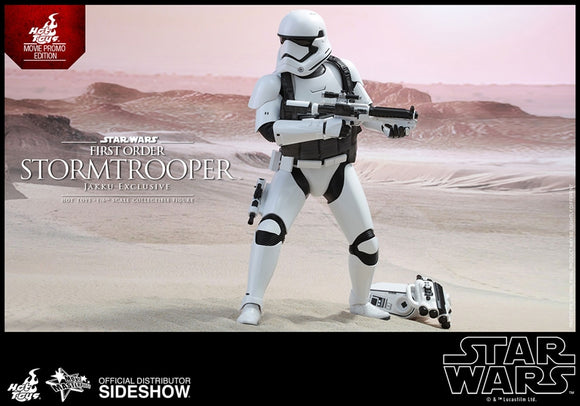 Hot Toys Star Wars Episode VII The Force Awakens First Order Stormtrooper (Jakku Exclusive) 1/6 Scale 12