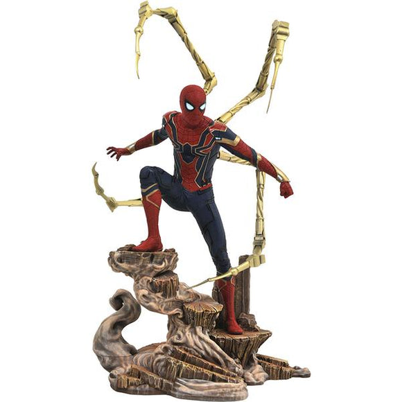 Diamond Select Marvel Avengers Infinity War Gallery Iron Spider Statue