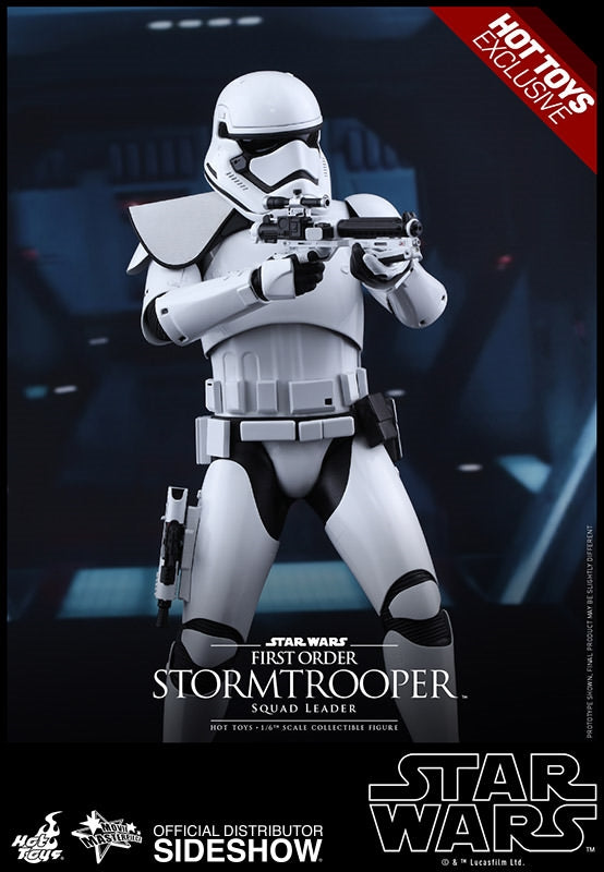 Hot Toys Star Wars Episode VII The Force Awakens First Order Stormtrooper (Squad Leader Exclusive) 1/6 Scale 12