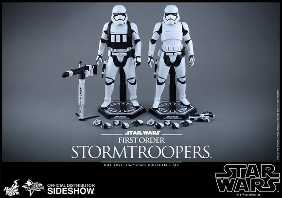 Hot Toys Star Wars Episode VII The Force Awakens First Order Stormtroopers 2 Pack Set 1/6 Scale 12