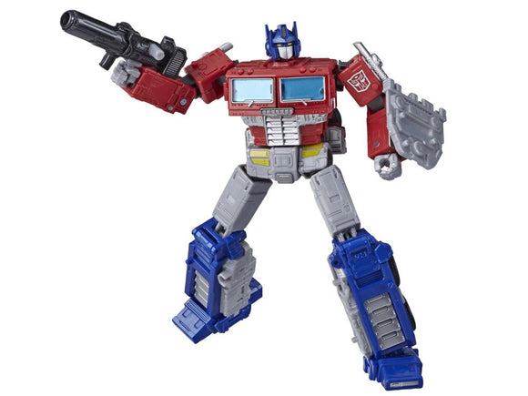 Transformers Generations War for Cybertron Earthrise Leader WFC-E11 Optimus Prime Figure