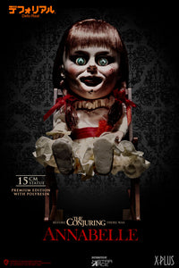 Star Ace Toys The Conjuring Defo-Real Annabelle Polyresin Statue