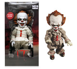 "Mezco Toyz Designer Series IT (2017) Mega Scale 15"" Talking Pennywise Doll"