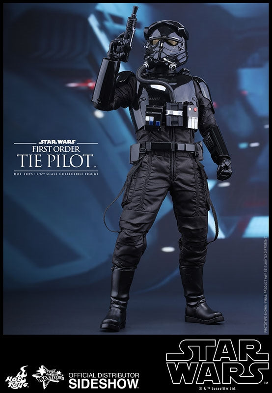 Hot Toys Star Wars Episode VII The Force Awakens First Order Tie Fighter Pilot 1/6 Scale 12