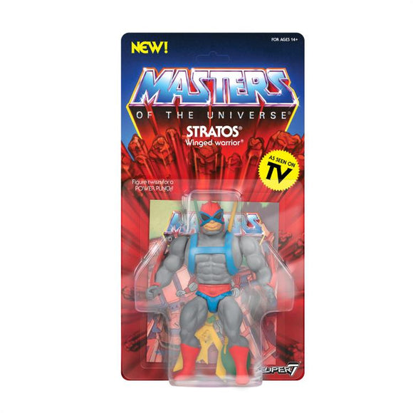 Super7 Masters of the Universe Vintage Wave 4 Collction Stratos Action Figure