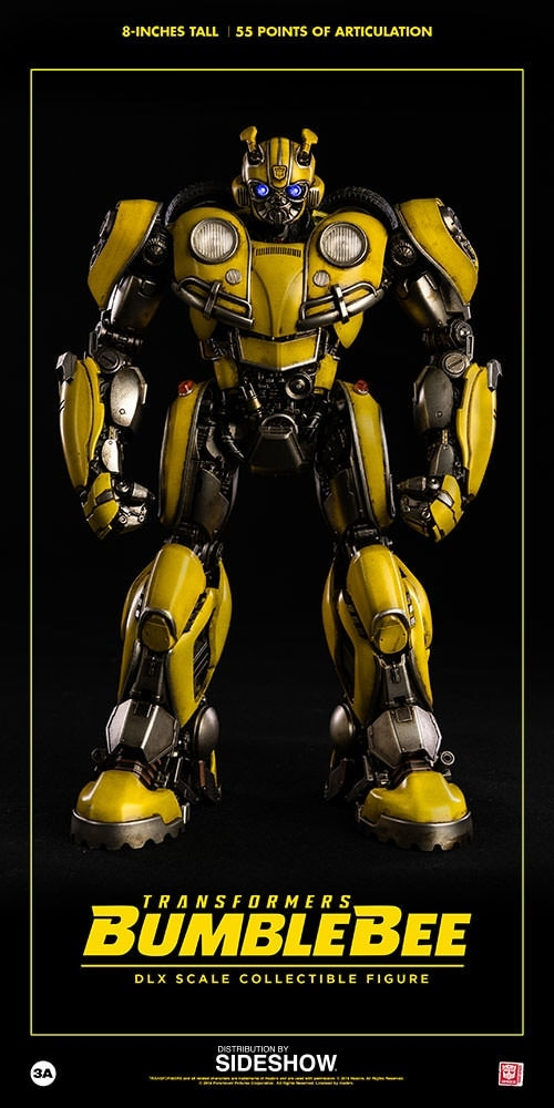 ThreeA Toys Transformers Bumblebee DLX Collectible Figure